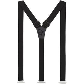 Norrøna Suspenders 25mm szary/czarny